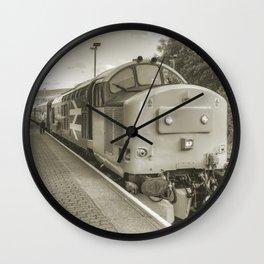 Rhymney 37 Wall Clock