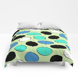 Polka Dotts Colorful Pattern Comforters