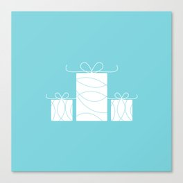 Wedding gift boxes Canvas Print