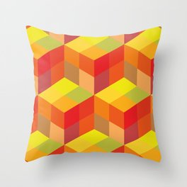 Geometrical pattern Throw Pillow