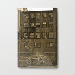 woodwards Metal Print