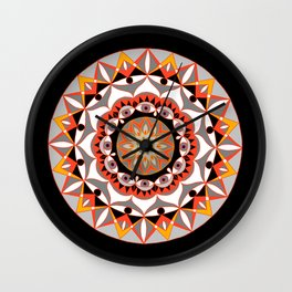 My Solar Plexus Mandhala | Secret Geometry | Energy Symbols Wall Clock