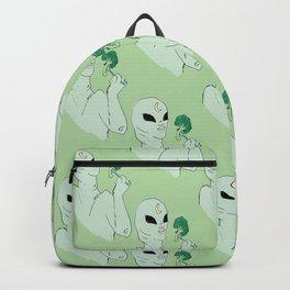 alien broccoli Backpack