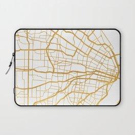 ST. LOUIS MISSOURI CITY STREET MAP ART Laptop Sleeve