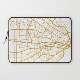 ST. LOUIS MISSOURI CITY STREET MAP ART Laptop Sleeve
