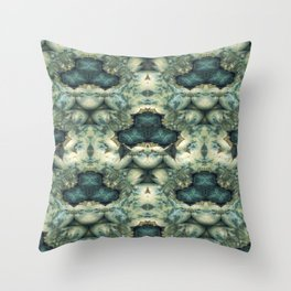 Stone Bower Throw Pillow