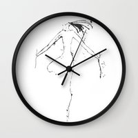 shiva Wall Clocks featuring Shiva I by Simi Design