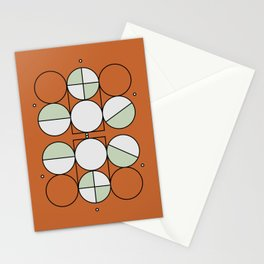 'Joy'metric Circles Stationery Cards