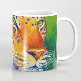 Colorful Leopard Big Cat Wild Cat Coffee Mug