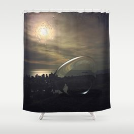 Intervention 24 Shower Curtain