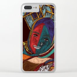 Muslim Power #Spiritual Art #Painting Clear iPhone Case
