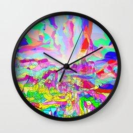 Badlands USA Wall Clock