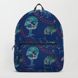 Guinea Fowl on the Run Backpack