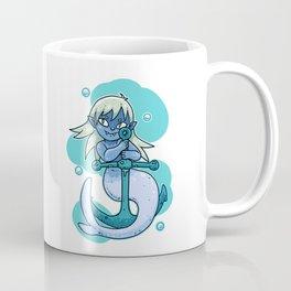 Sharp-toothed Mermaid Coffee Mug