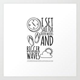 For the Ocean Lover! Art Print