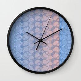 OCTAGONAL CREATION 2 Wall Clock