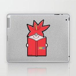 Reading Rainbow in Harmony - Red Laptop & iPad Skin