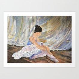 Artistic pose Art Print