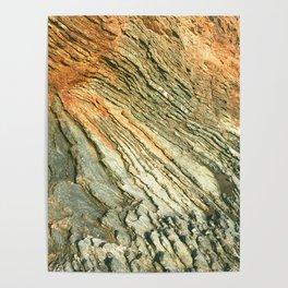 Marin Headlands Slate Rock Poster
