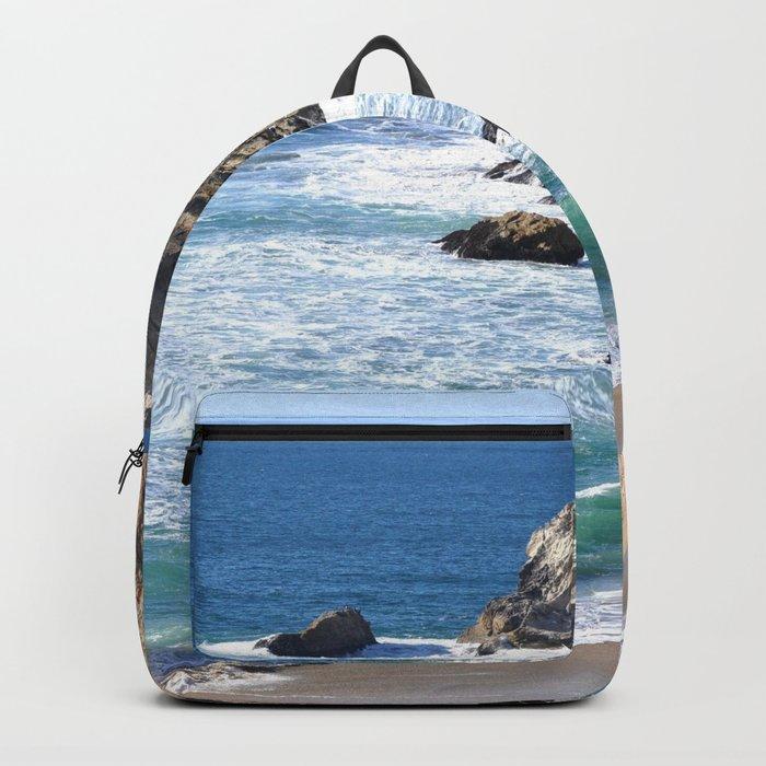 CALIFORNIA COAST - BLUE OCEAN Backpack