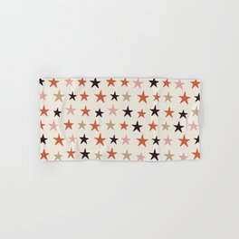 Star Pattern Color Hand & Bath Towel