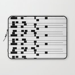 ASCII All Over 06051312 Laptop Sleeve