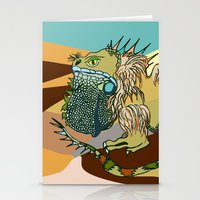 dune Stationery Cards featuring Dune by Maria Paula Quiva