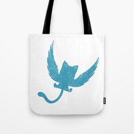 A Small Exceed of Fairy Tail Anime - Blue Happy Tote Bag
