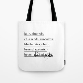 Health Nut Tote Bag