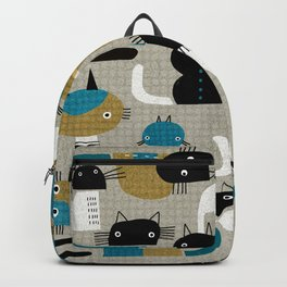 20 CAT PATTERN Backpack