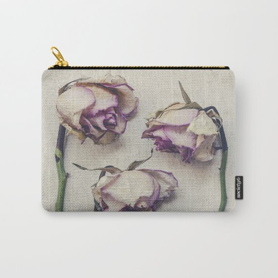 Vintage Roses II Carry-All Pouch