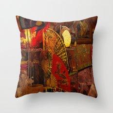 Asian Art Throw Pillow