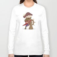 nautical Long Sleeve T-shirts featuring Nautical by Kyle Anderson
