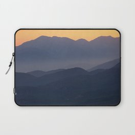 Mountain Sunset (Big Bear Lake, California) Laptop Sleeve