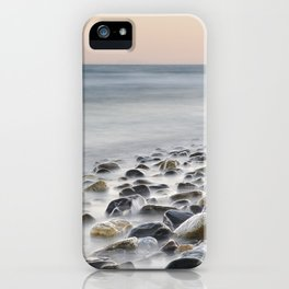 Gibraltar, Spain and Africa. Pink sunset iPhone Case