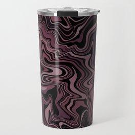 Dark Chocolate Rose Agate Travel Mug