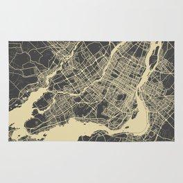 Montreal Map Rug