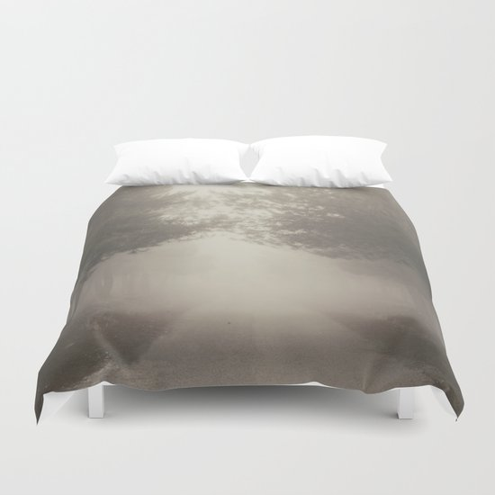 Mystery road.... Duvet Cover