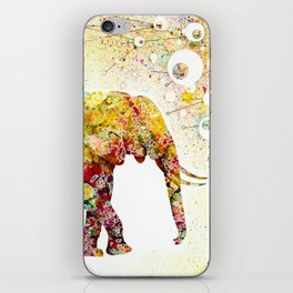 """Forever Young"" Elephant Mother & Baby iPhone Skin"