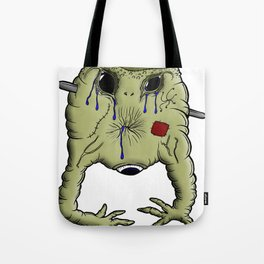 Gelatin Creature After Guillotine Tote Bag