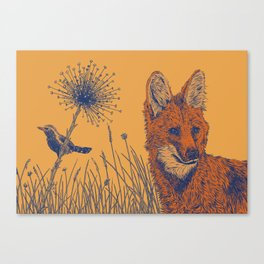 Maned Wolf Canvas Print