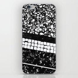 Terrazzo Pattern Black & White #1 #texture #decor #art #society6 iPhone Skin