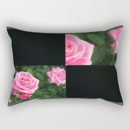 Pink Roses in Anzures 1 Blank Q2F0 Rectangular Pillow