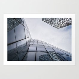 Modern architecture buildings in New York City Art Print