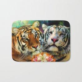 Tiger Lillies Bath Mat