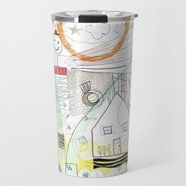 A Family Collaboration - 'No Place Like Home' Travel Mug