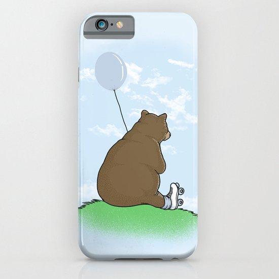 Cloudy the Bear iPhone & iPod Case