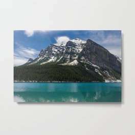 Canadian Rockies and Turquoise Waters Metal Print