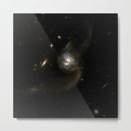 816. NGC 6090 - a Pair of Spiral Galaxies Metal Print