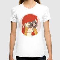 nan lawson T-shirts featuring Behind The Lens by Nan Lawson